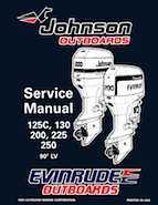 1996 johnson evinrude  quot ed quot  90 lv 125c  130  200  225  250 service manual  p  n 507128  13 95 1994 Johnson Outboard 1996 Johnson Outboard Wiring Diagrams