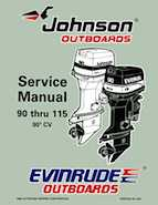 1997 Johnson Evinrude Eu 90 Thru 115 90 Cv Service