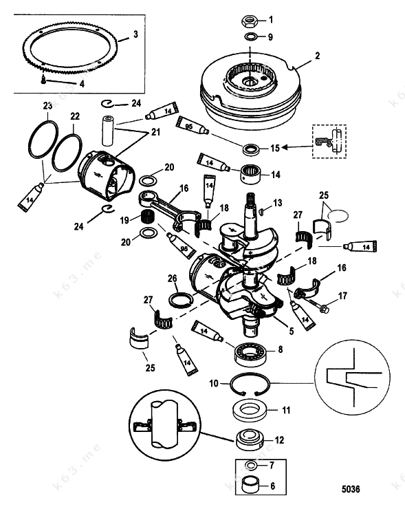 Marathon Motor Parts Diagram