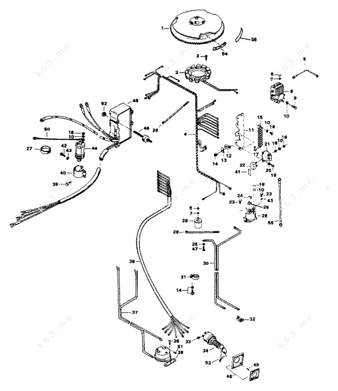 chrysler 75 1983  electrical components