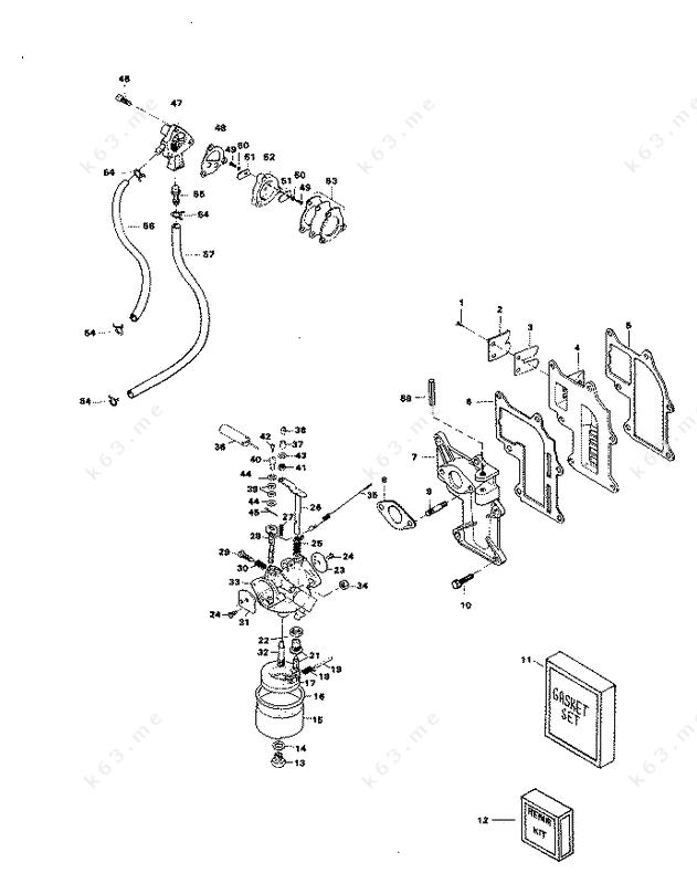 chrysler 9 9 1981 fuel system parts catalog. Black Bedroom Furniture Sets. Home Design Ideas